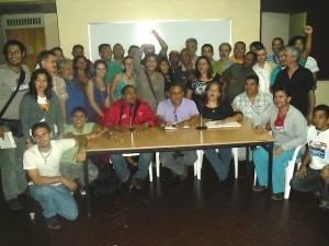 Reunión de la Coordinación Nacional de Marea Socialista